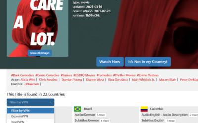 3步驟在 Netflix 用 VPN 跨區看詐欺女王 (I care a lot)/完美監護人/我很在乎,以及其他找不到的影片